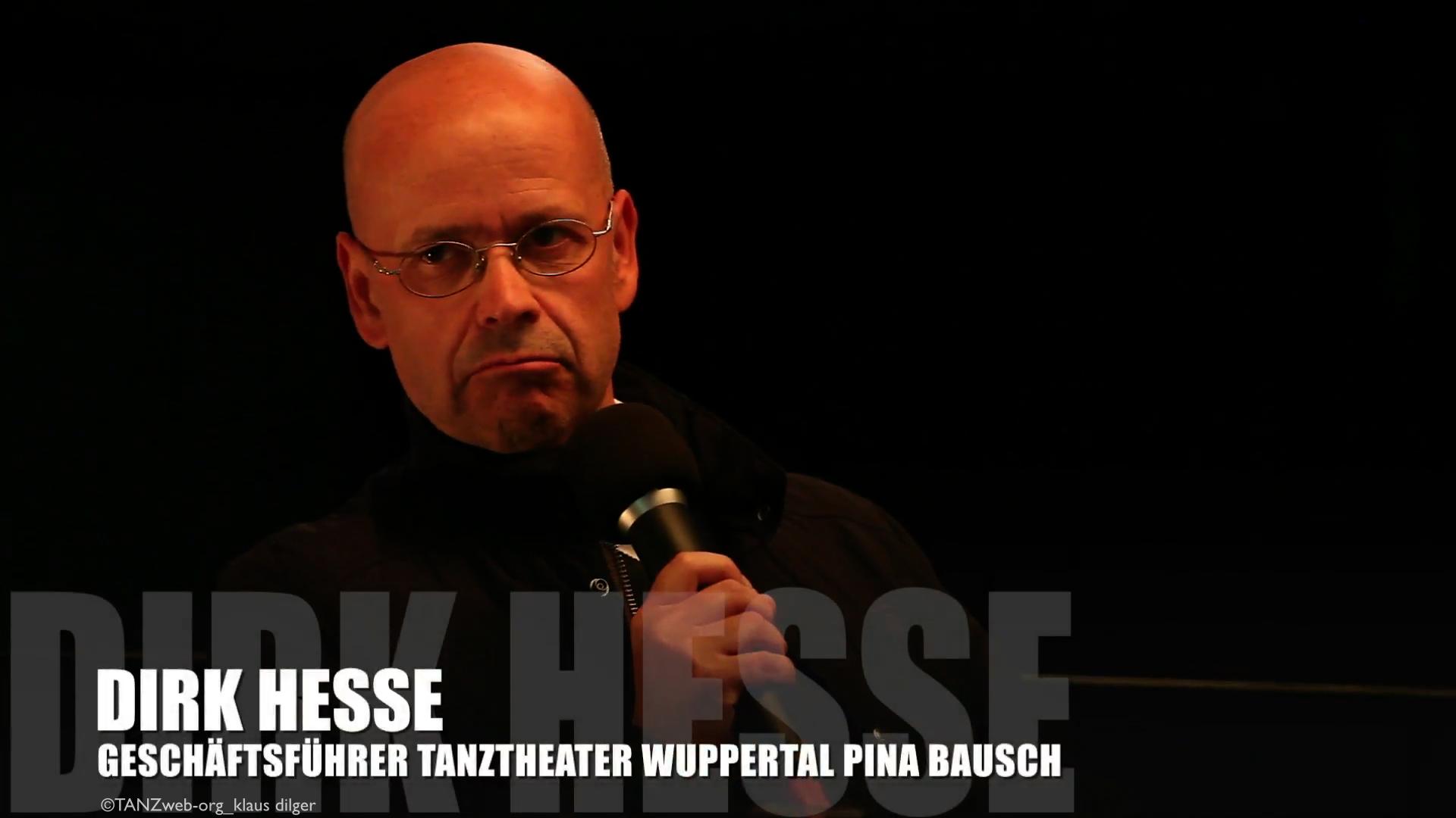 ...noch nicht lange her: Geschäftsführer Dirk Hesse bei der Vorstellung von Adolphe Binder als neue Intendantin und Künstlerische Leiterin