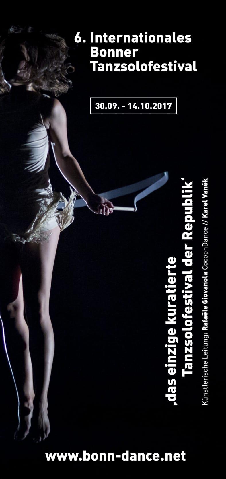Werbebanner Bonner Tanzsolofestival