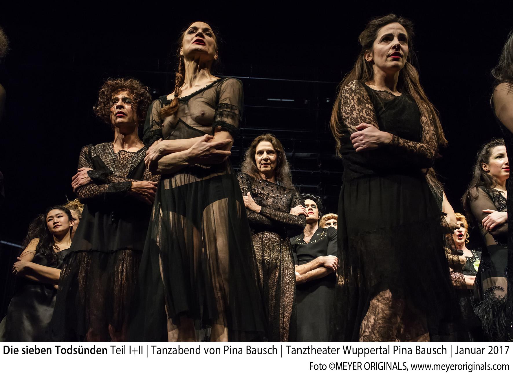 Die sieben Todsünden – Tanzabend von Pina Bausch