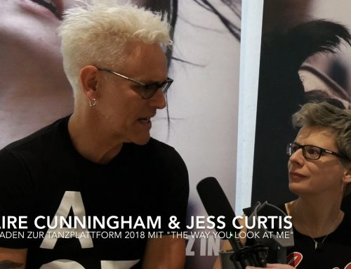 Talking to Claire Cunningham and Jess Curtis