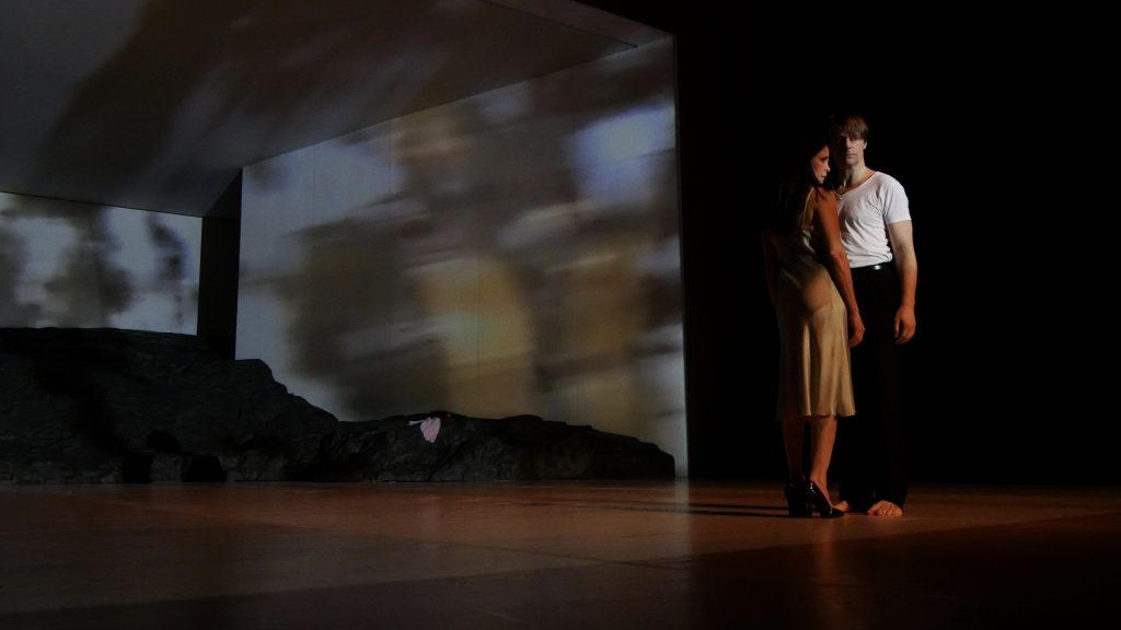 Ruth Amarante und Michael Strecker in Masurca Fogo von Pina Bausch - Tanztheater Wuppertal ©Klaus Dilger