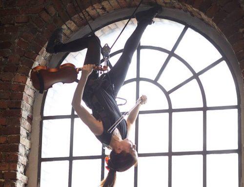 LEBENSLINIEN – Eine Choreographie für Kammerorchester und Flugtheater