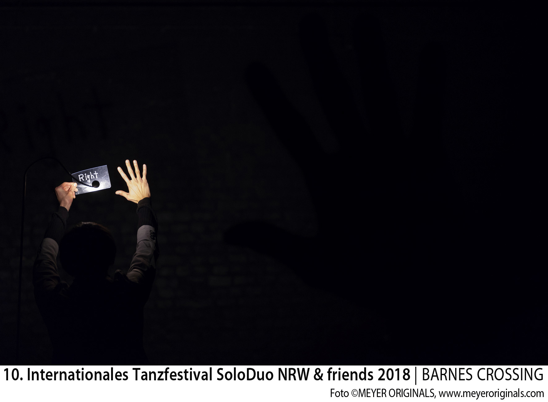 "10. Internationales Tanzfestival SoloDuo NRW + Friends 2018 BEST NEWCOMER SOLO: ""R"" Kenji Shinohe (D)"