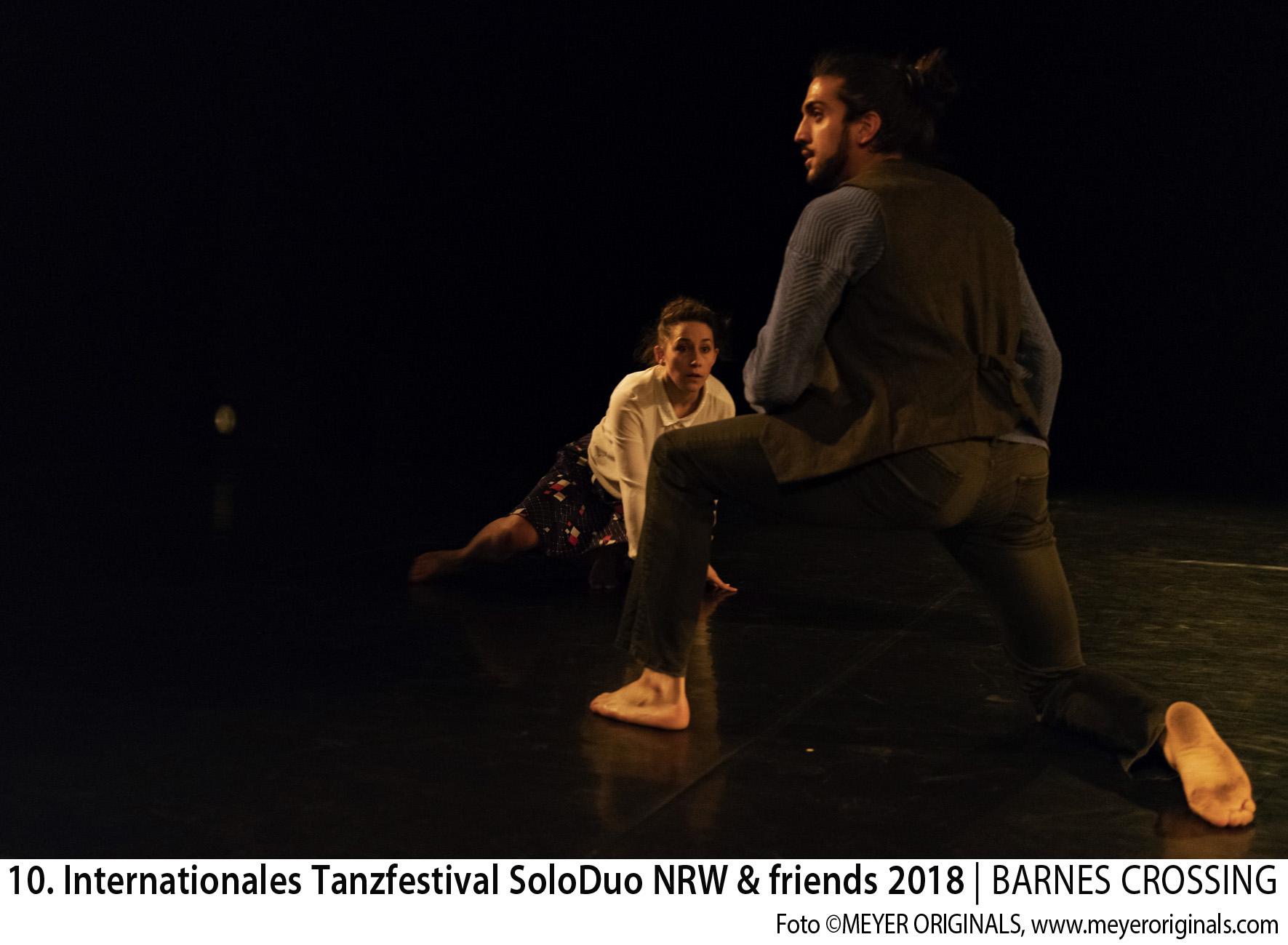 "10. Internationales Tanzfestival SoloDuo NRW + Friends 2018 BEST NEWCOMER DUO: ""BRUT-E"" Maxim Campistron & Angélique Verger (Company WAO) (F)"