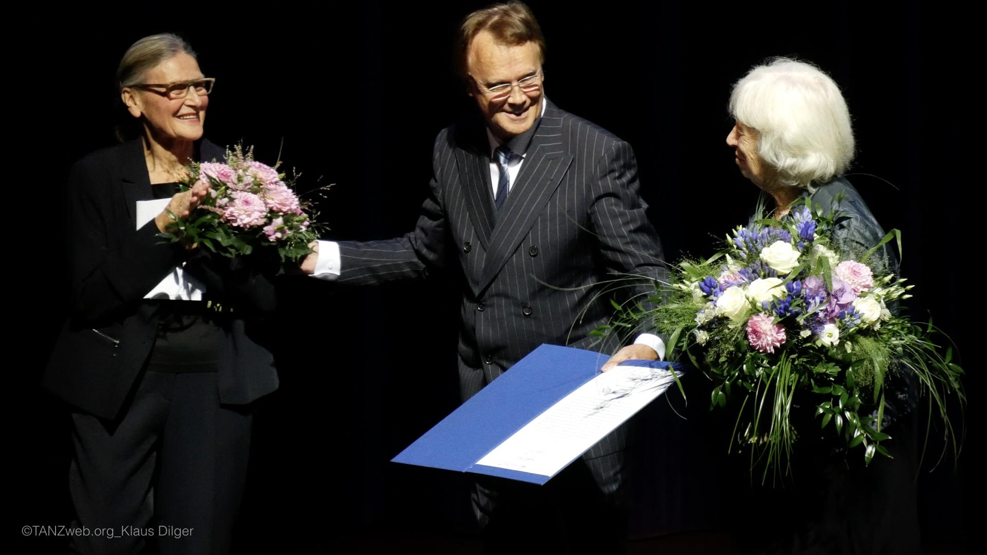 ©PRESSEBILDER Klaus Dilger_TANZWEB Verleihung Deutscher Tanzpreis 2018 in Essen an Nele Hertling