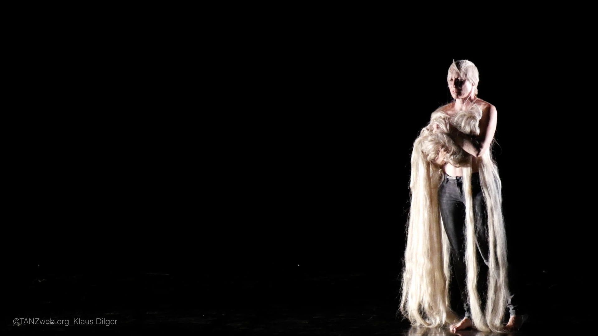 ©PRESSEBILDER Klaus Dilger_TANZWEB Verleihung Deutscher Tanzpreis 2018 in Essen Meg Stuart - All Songs have been exhausted