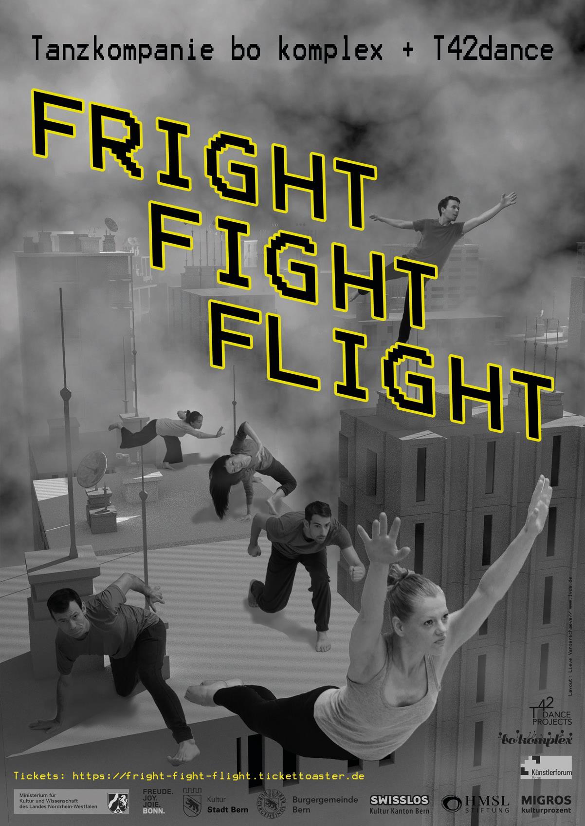 FRIGHTFIGHTFLIGHT bo komplex - fright-fight-flight
