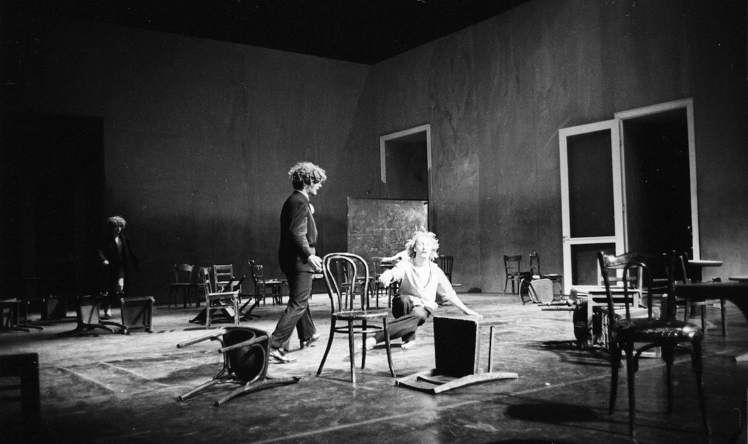 ©Ulli Weiss_ Cafe Mueller_Foto der Uraufführungsserie im Mai 1978