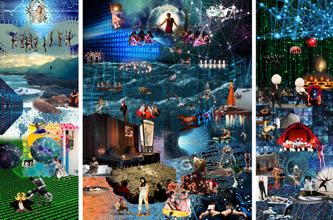 The Last Judgement- 'Contemporary Performance' against the backdrop of 'Big Data.' A collaboration with Google Image Search – Amelia Bauer, 2017