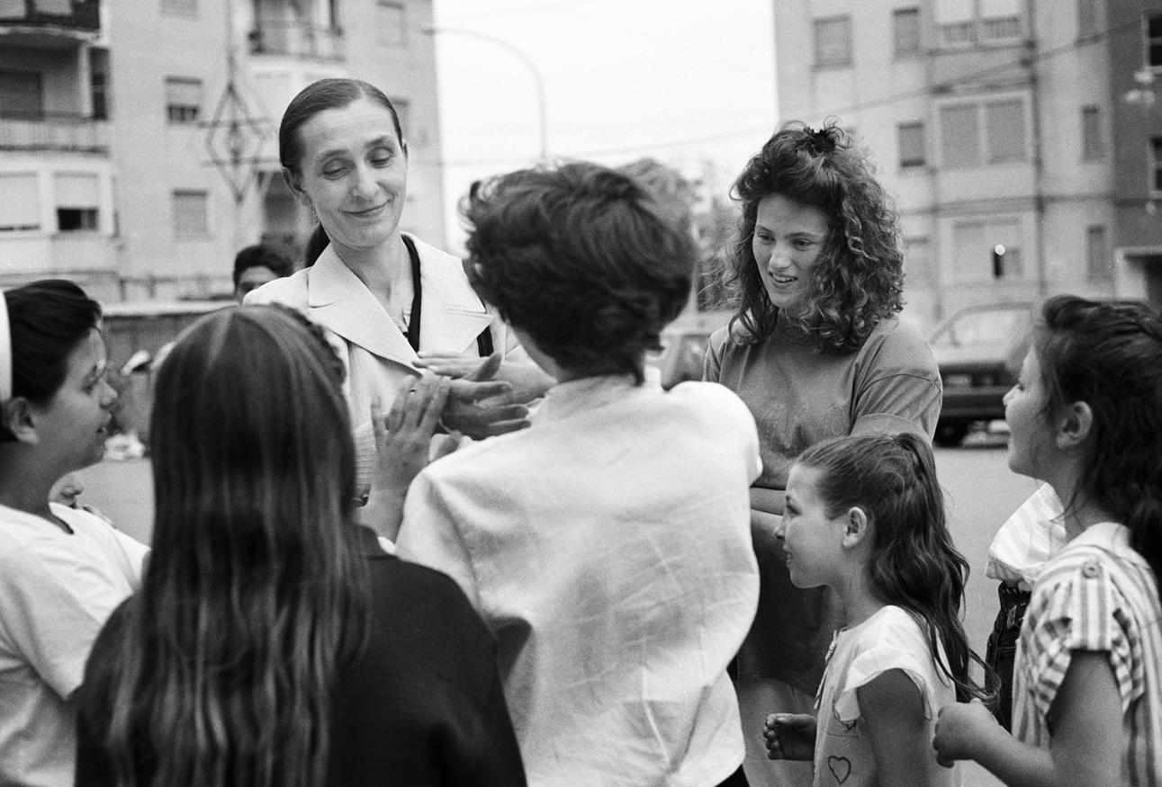 ©Ninni Romero_Pina Bausch und Loretta Bentivoglio