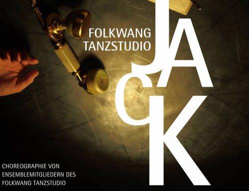 """Folkwang Tanzstudio zeigt """"Jack"""""""