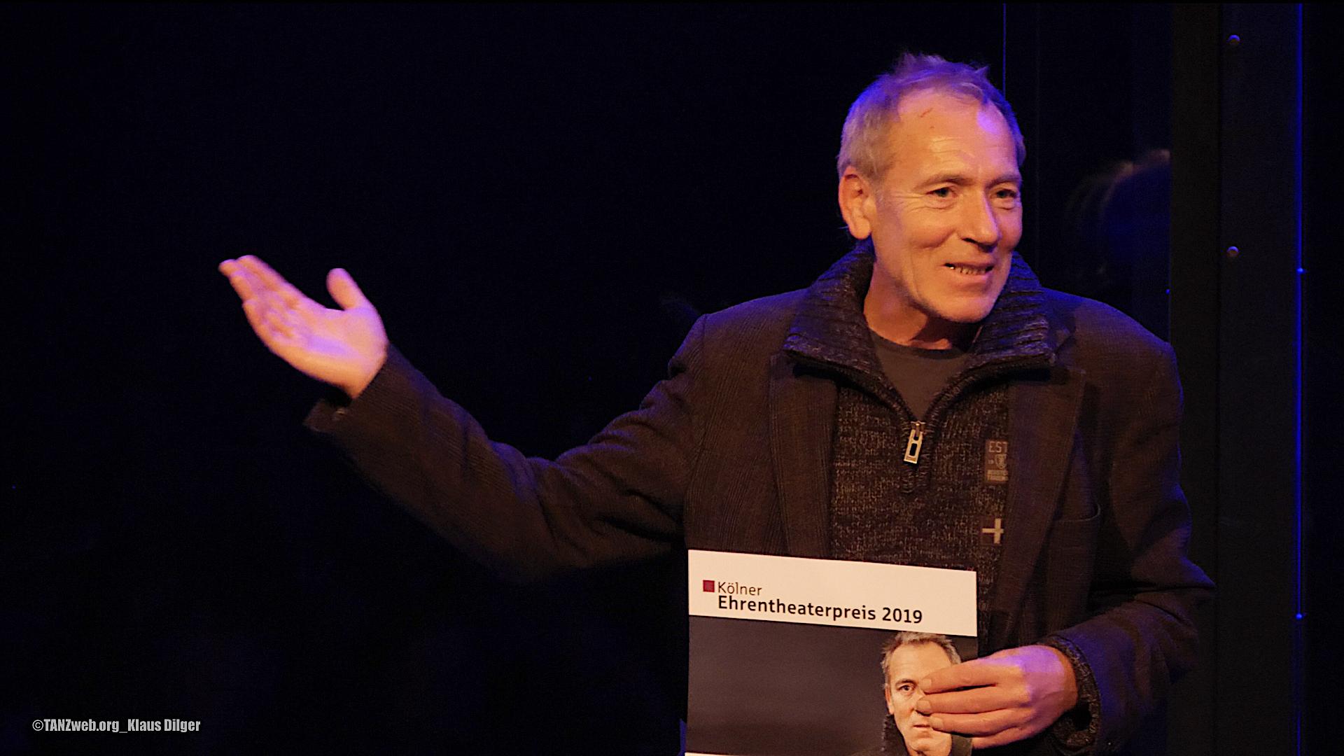 KÖLNER EHRENTHEATER-PREIS geht an Werner Meyer