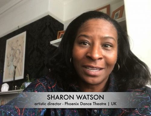 Video-Message to schrit_tmacher justDANCE! Festival: Sharon Watson