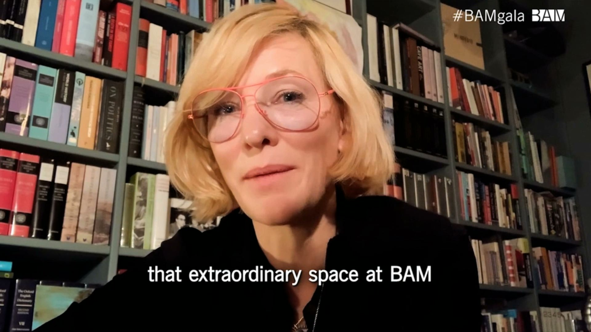 honored: Cate Blanchett